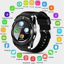 2020 New V8 Wireless Smart Watch Bluetooth Reminder ... - Vova