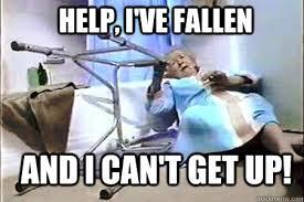 Life Alert lady memes | quickmeme via Relatably.com