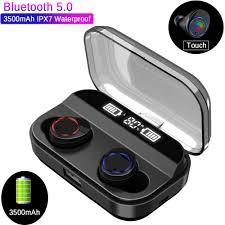 CALETOP TWS X11 <b>Bluetooth 5.0 Earphone</b> Hifi Stereo Sport ...