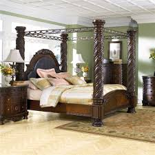 poster king bed canopy millennium north shore king bed canopy frame  more item number b