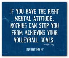 Image result for attitude is everything volleyball