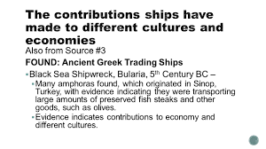 informational essay source transporting treasure the also from source 3 found ancient greek trading ships 61607 black sea shipwreck