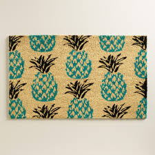 pineapples kitchen curtains