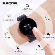 <b>SANDA Smartwatch for</b> IOS Android Bluetooth Men Watch Women ...