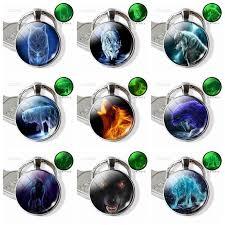 Glow In The Dark Zodiac Keychain Luminous 12 <b>Zodiac Signs Glass</b> ...