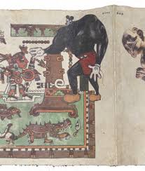 visual culture of the nacirema chagoya s printed codices art in fig 1c enrique chagoya detail of tales from the conquest codex