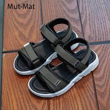 <b>Boy Sandals 2019 New</b> Children's Beach Shoes Non slip Soft ...