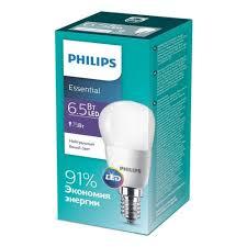 <b>Светодиодная лампа Philips Philips</b> ESS LEDLustre 6.5-75W <b>E14</b> ...