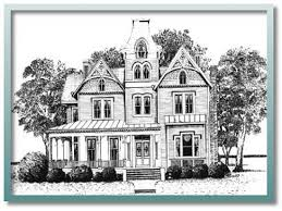 Century Victorian House Plans Victorian Homes House Plans    Queen Anne Victorian House Plans Historic Victorian House Plans Plan vf floors