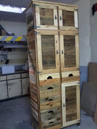 recycled pallet storage cabinet bathroom furniture pallets