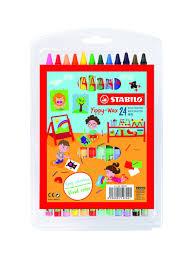 <b>Восковые мелки</b> Yippy-Wax, 12 цветов /восковые <b>карандаши</b> ...
