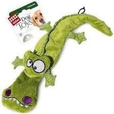<b>Игрушка GiGwi Dog Toys</b> Крокодил с пищалкой для собак - купить ...