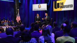 President Obama talks race, sports and being Undefeated