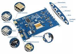 <b>Waveshare 7inch HDMI LCD</b> (H) Monitor 1024x600 Resolution IPS ...