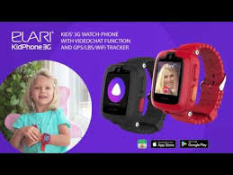 <b>Elari KidPhone 3G</b>: kids' 3G watch-phone with videochat function ...