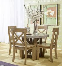 designs sedona table top base: jofran boulder ridge concrete dining table round virginia furniture market kitchen table