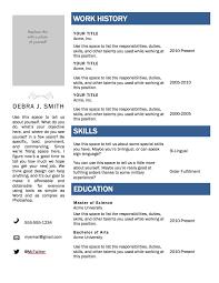 free resume templates   word excel pdf templatesresume sample free