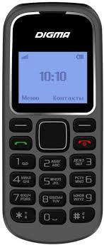 Мобильный <b>телефон Digma</b> Linx A105 2G, серый — купить в ...