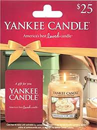 Yankee Candle Gift Card $25: Gift Cards - Amazon.com