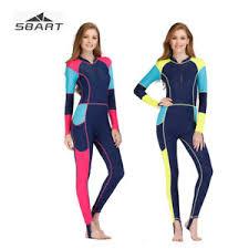 <b>SBART</b> Women UV Protect Rash Guard Surf Jellyfish <b>Scuba Diving</b> ...