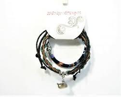 3pc Bracelet LOT Green Blue Whale <b>Charm Boho</b> Tribal <b>Style</b> ...