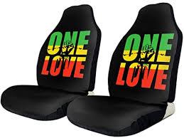 NA-1 Reggae Rasta One Love Green Yellow Red Car ... - Amazon.com