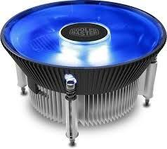 <b>CoolerMaster i70C</b> Standard 120mm Blue LED <b>CPU</b> Cooler (RR ...