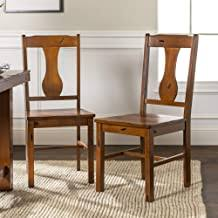 Traditional Oak Dining Room Chairs - Amazon.com