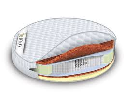 <b>Матрас Round Cocos</b>-<b>Medium</b> S1000 <b>Lonax</b> 21 см - купить в СПб ...