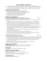 job resume science resume format example of the science resume job resume biology resume example science resume format