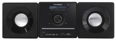 Музыкальный центр <b>Hyundai H</b>-<b>MS280 Black</b> — купить в Москве ...