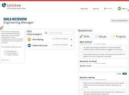 unitive for interview coordinators unitive build an interview guide