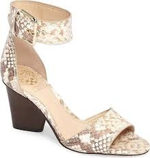 Vince Camuto Women's Shoes in Sand Snake <b>Print</b> Leather <b>Color</b>. A ...
