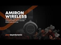 Купить <b>беспроводные наушники Beyerdynamic Amiron</b> Wireless