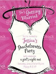 pink bachelorette party invitation template stock vector art pink bachelorette party invitation template royalty stock vector art