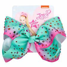 """<b>8</b>"""" Fashion <b>Jojo Siwa Bows</b> Hair Clip Rainbow <b>Bow</b> knot Pizza ..."""