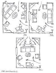 arranging furniture in living room