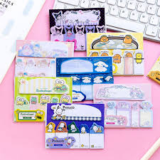 <b>1pack</b>/<b>lot Japanese</b> Sanrio Memo Pad Kawaii <b>Cartoon</b> Sticky Note ...