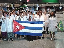 Resultado de imagem para imagem medicos cubanos