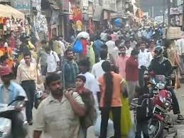 Image result for crowded streets in india images
