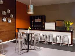 decoration engaging brown accents wall paint of mini bar decorating idea using polished wood bar awesome home bar decor small
