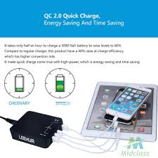 MS 6 Ports Quick <b>Charge</b> USB Wall <b>Charger</b> with 3.0 Technology ...