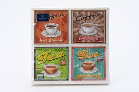 Купить <b>Салфетки</b> трёхслойные <b>Art Bouquet</b> Кофе Ретро 33х33 см ...