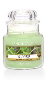 <b>Свеча ароматическая</b> Yankee Candle Дикая мята/ Wild mint 25-40 ...