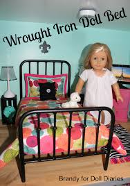 when i saw this amazing wrought iron doll bed from etsy shop dream come true beds httpswwwetsycomshopdreamcometruebeds i knew it had to be the vintage modern dollhouse furniture 1200 etsy
