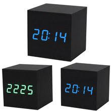 <b>2019 Hot Sale</b> Best Price <b>1PC</b> Digital LED Black Wooden Wood ...