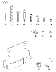 hardware for the hopen bed via swedish furniture parts represents major basic hardware sub assembling ikea chair