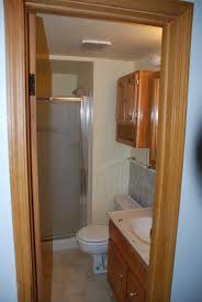 stylish attic bathroom
