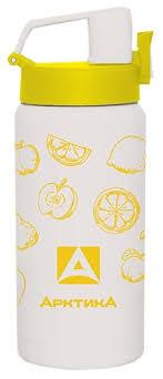 Купить <b>Термобутылка</b> Арктика 702-400 (<b>0</b>,<b>4 л</b>) белый/желтый по ...