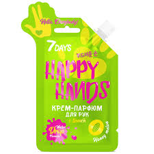 <b>7DAYS Крем-парфюм для</b> рук HAPPY HANDS HELLO ...